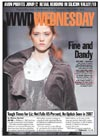press - WWD cover May 2nd 2007